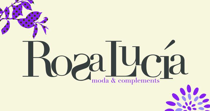 Logo comerç ROSA LUCIA MODA I COMPLEMENTS