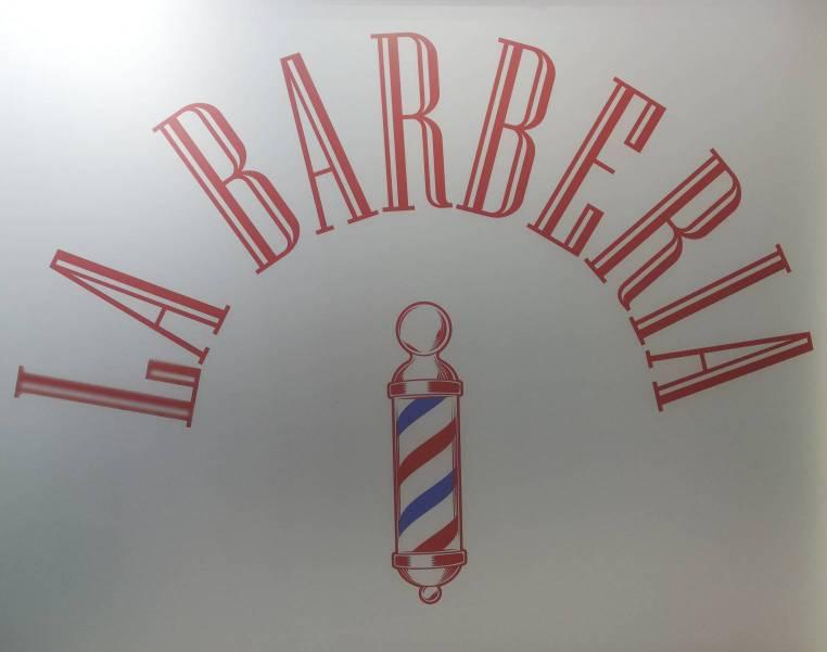 Logo comerç LA BARBERIA