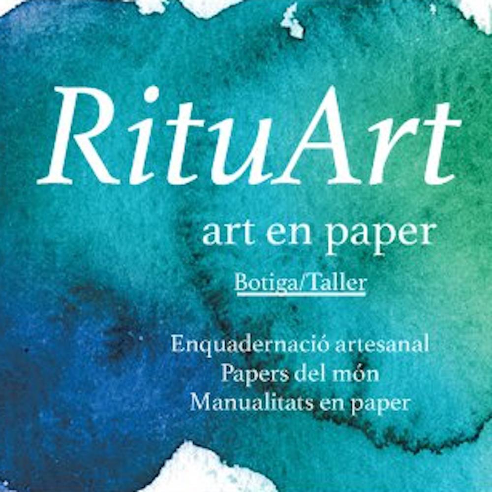 Logo comerç RituArt art en paper