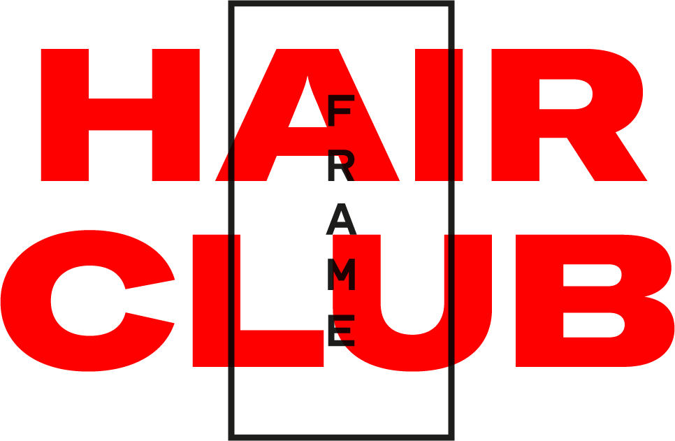 Logo comerç Frame. Hair Club