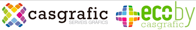 Logo comerç CASGRAFIC | ECO BY CASGRAFIC