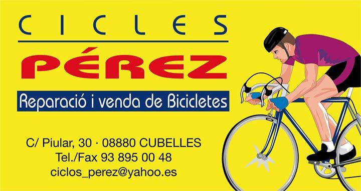Logo comerç Ciclos Perez