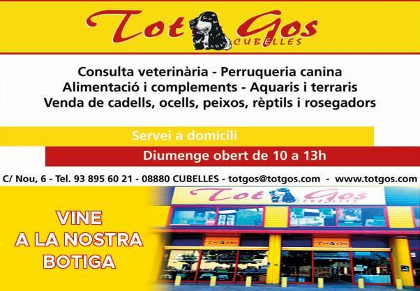 Logo comerç Tot Gos Cubelles