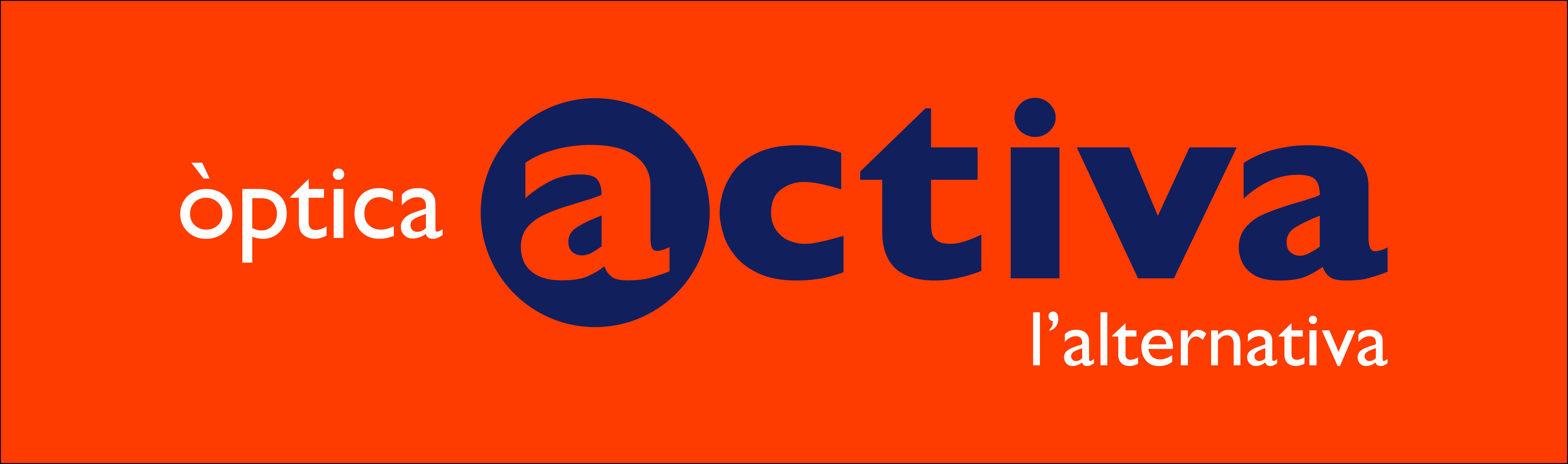 Logo comerç Òptica Activa - Imperial