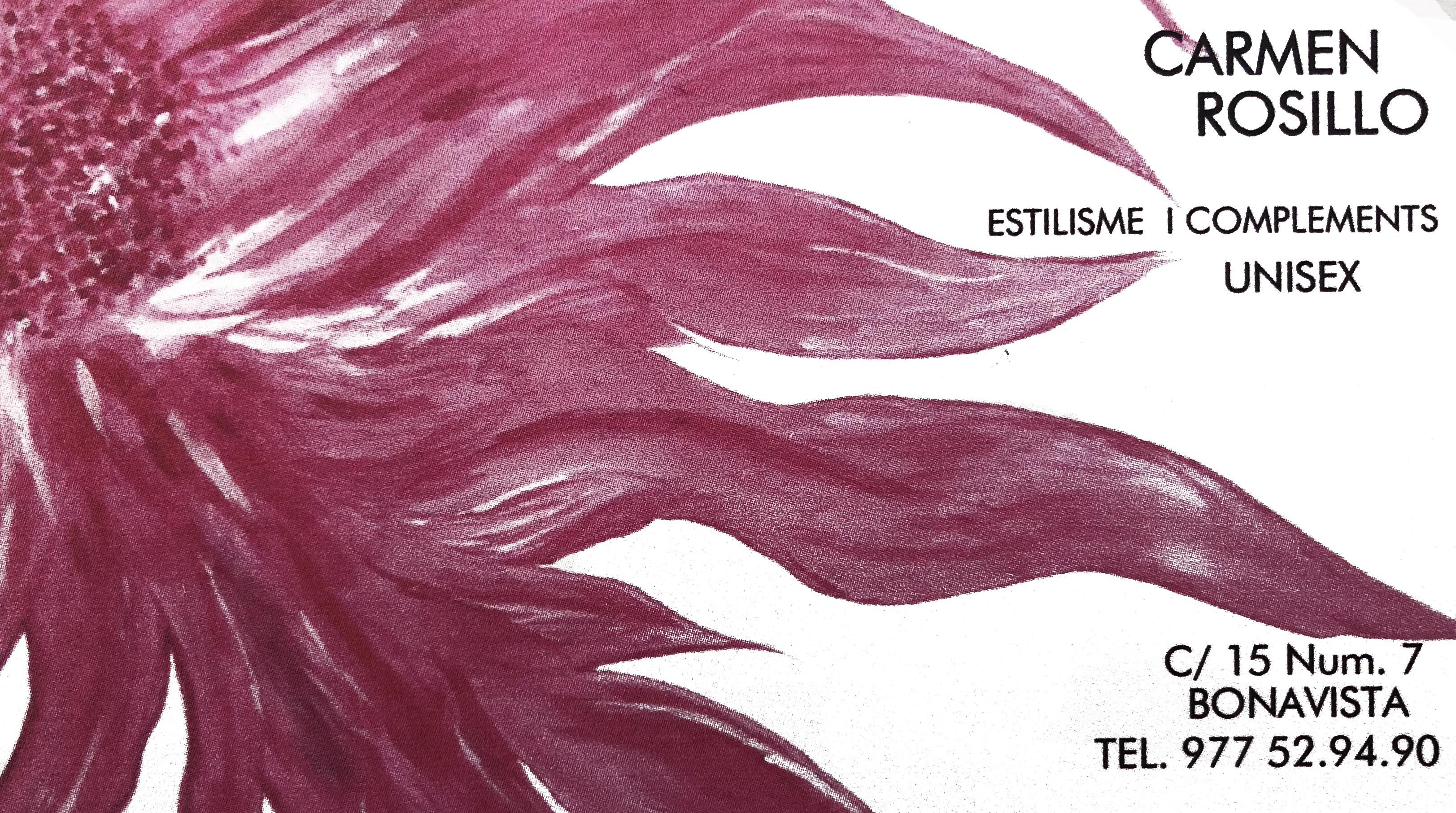Logo comerç Peluquería Carmen Rosillo