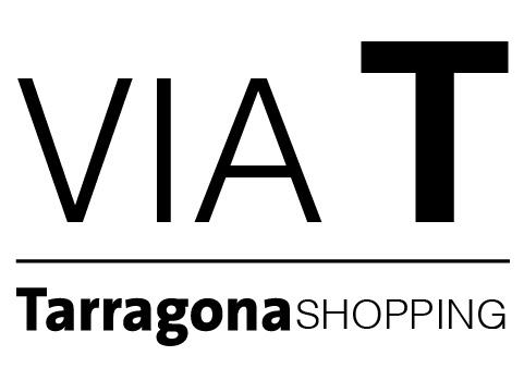 Logo comerç Associació de comerciants VIA T Tarragona-Shopping