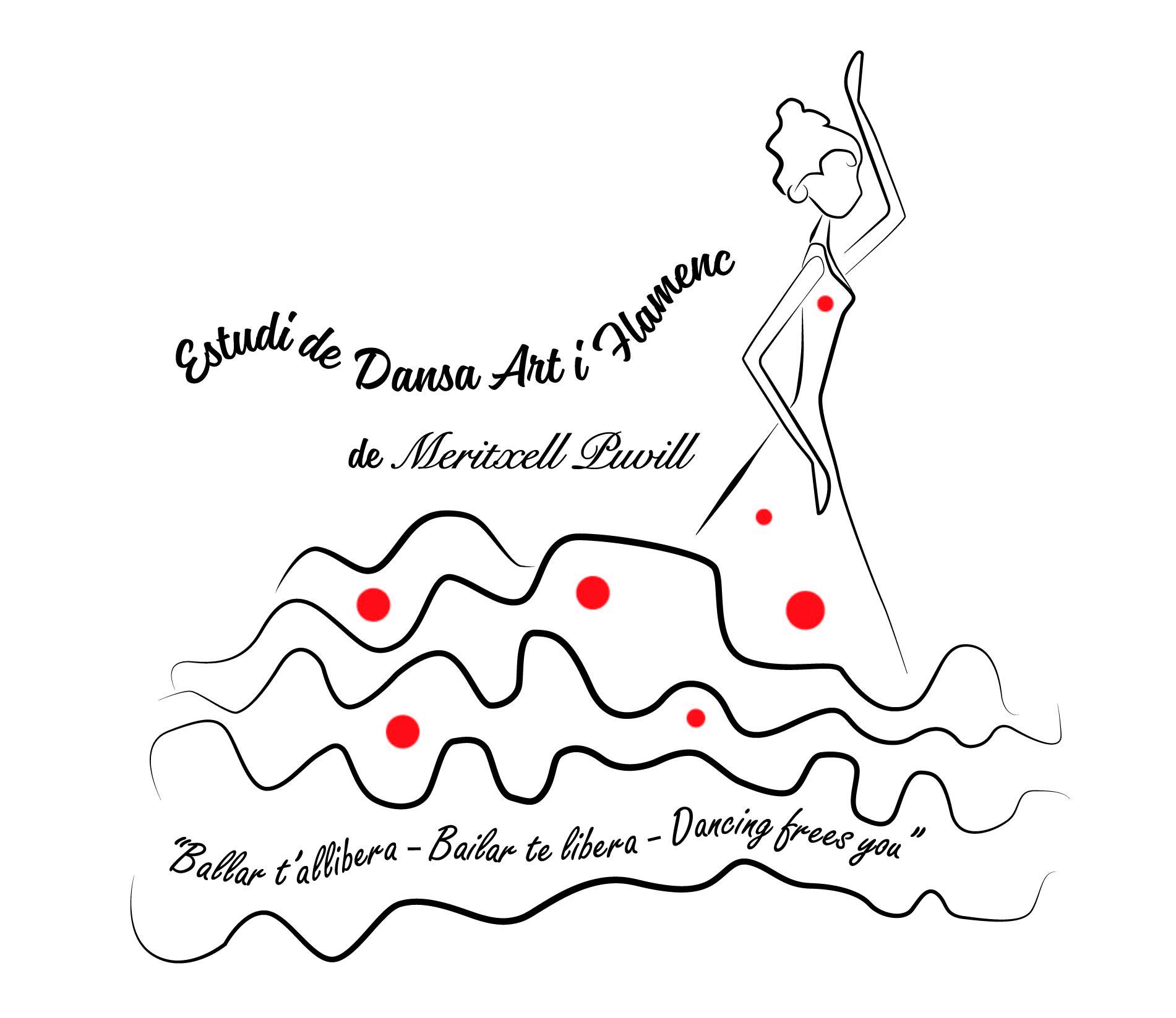 Logo comerç Estudi de dansa Art i Flamenc de Meritxell Puvill