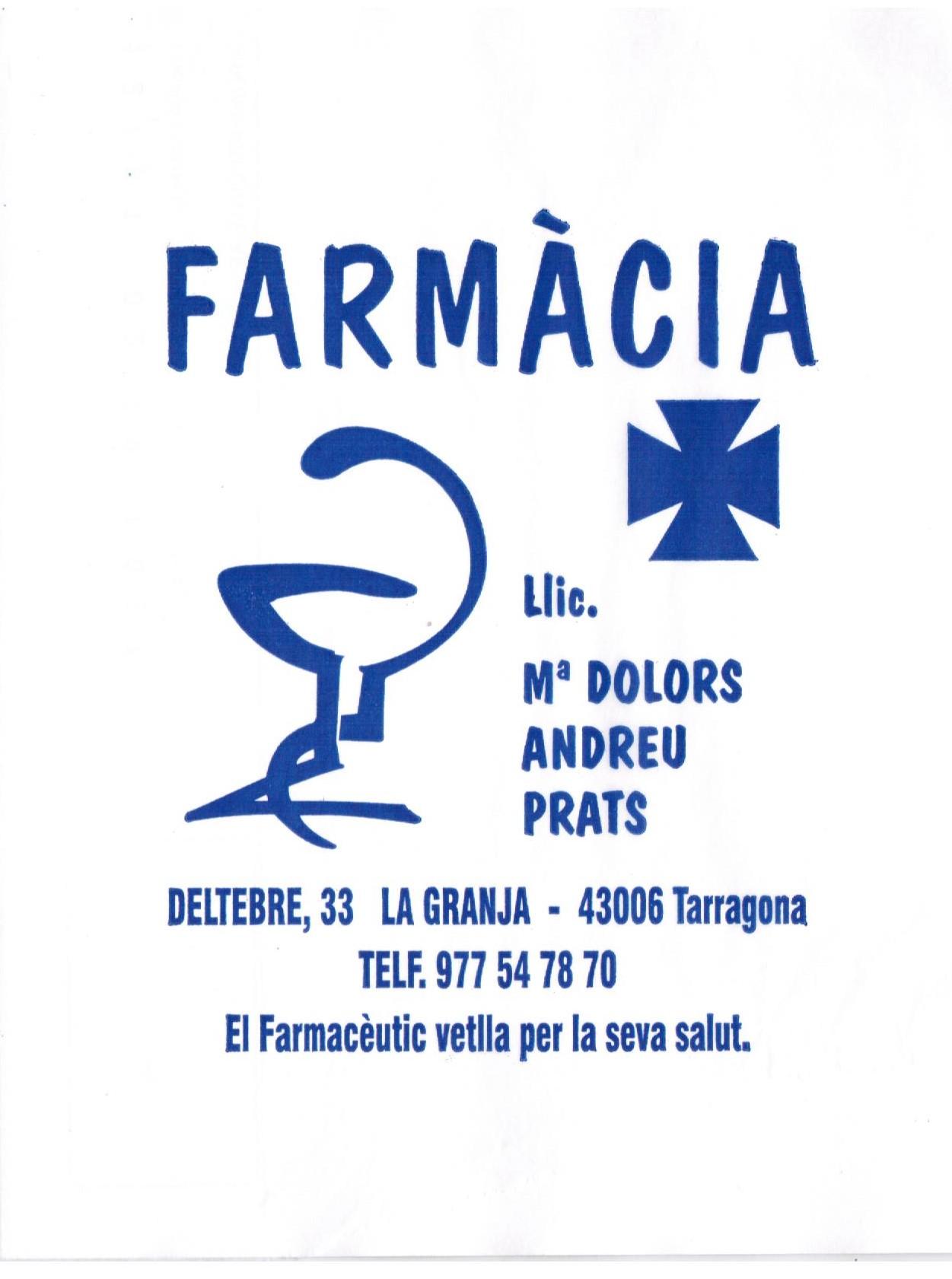 Logo comerç Farmàcia Andreu