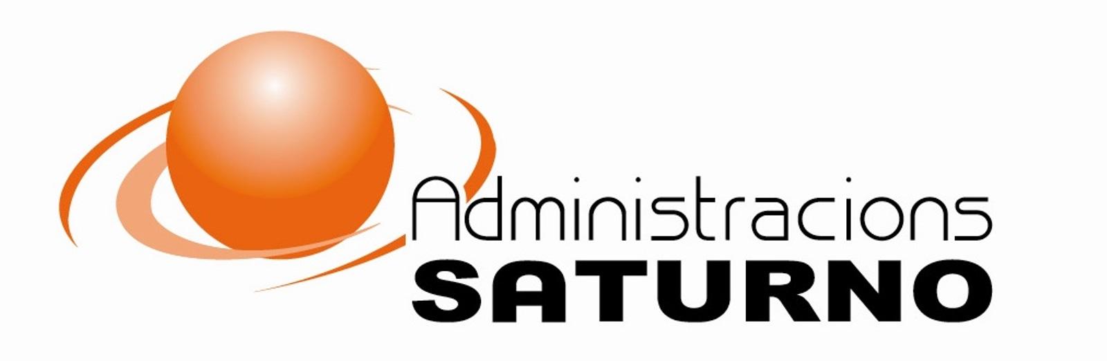 Logo comerç Administracions Saturno