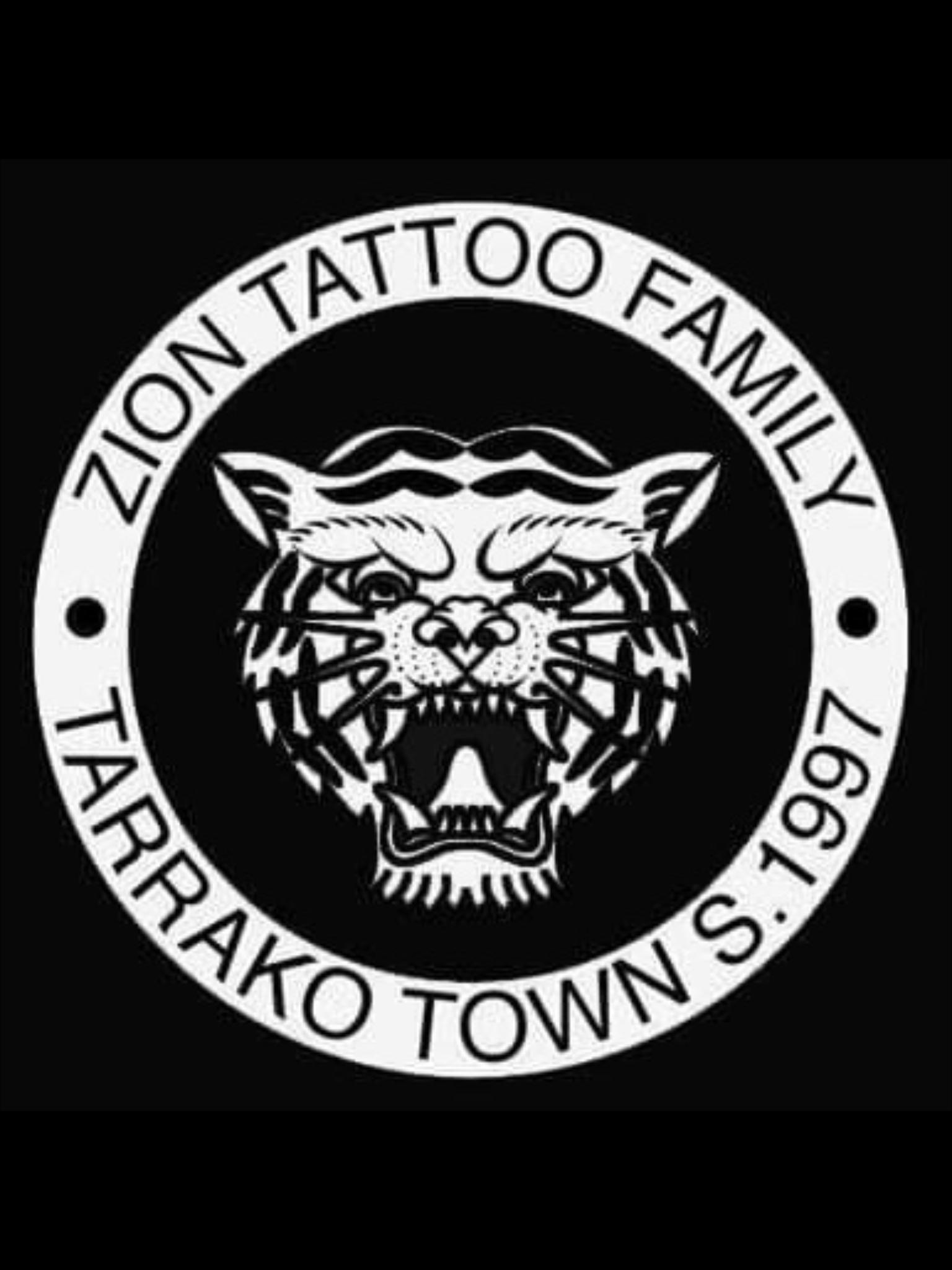 Logo comerç Zion Tattoo