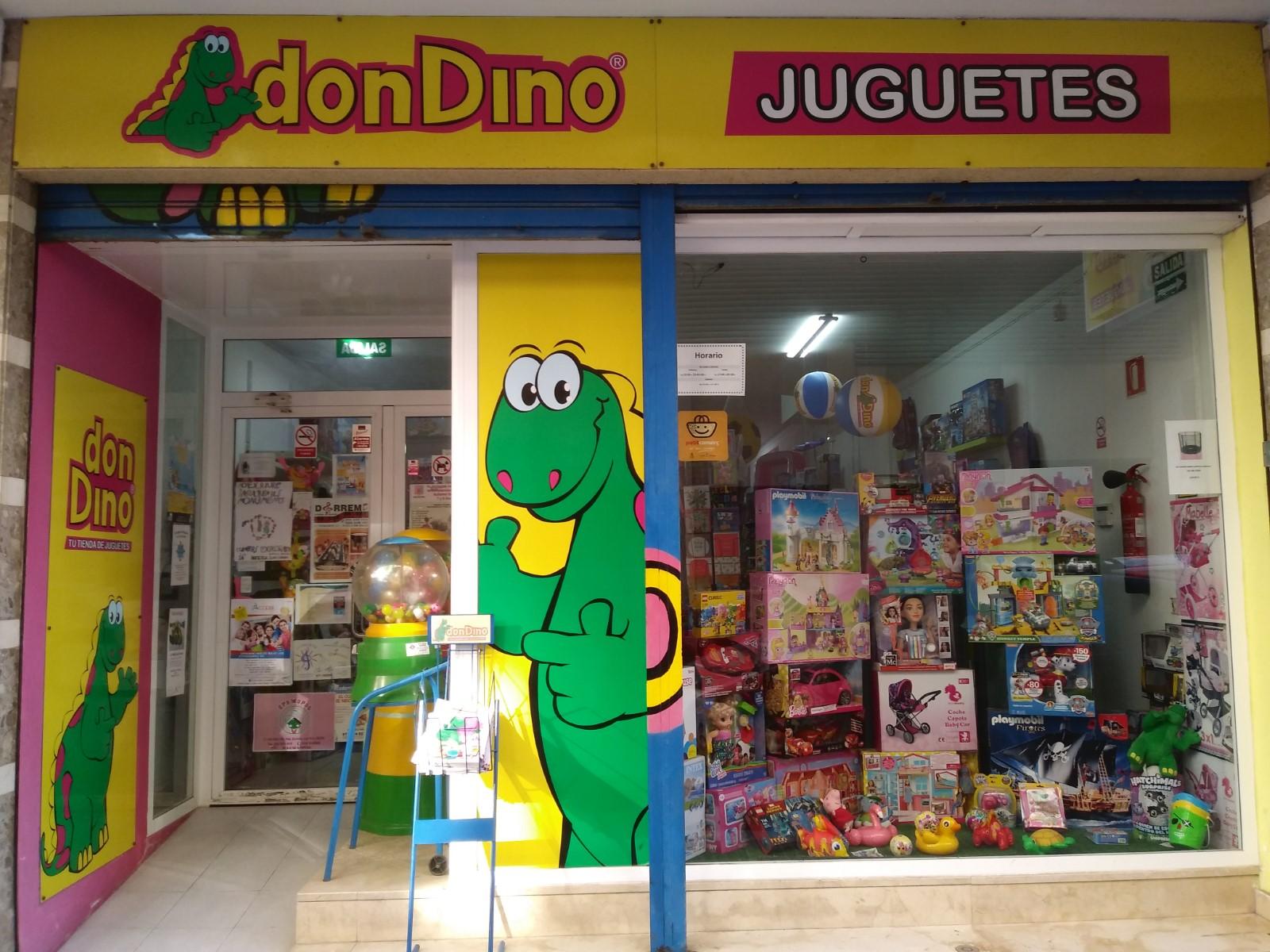 Logo comerç JUGUETES  DON DINO