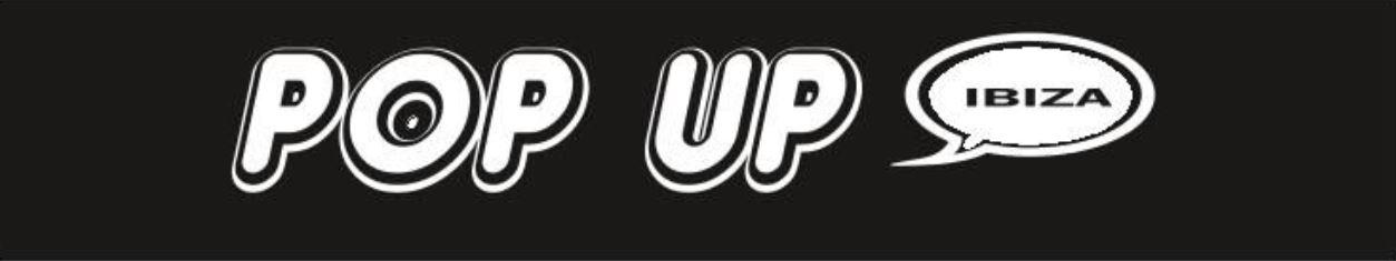 Logo comerç POP UP IBIZA
