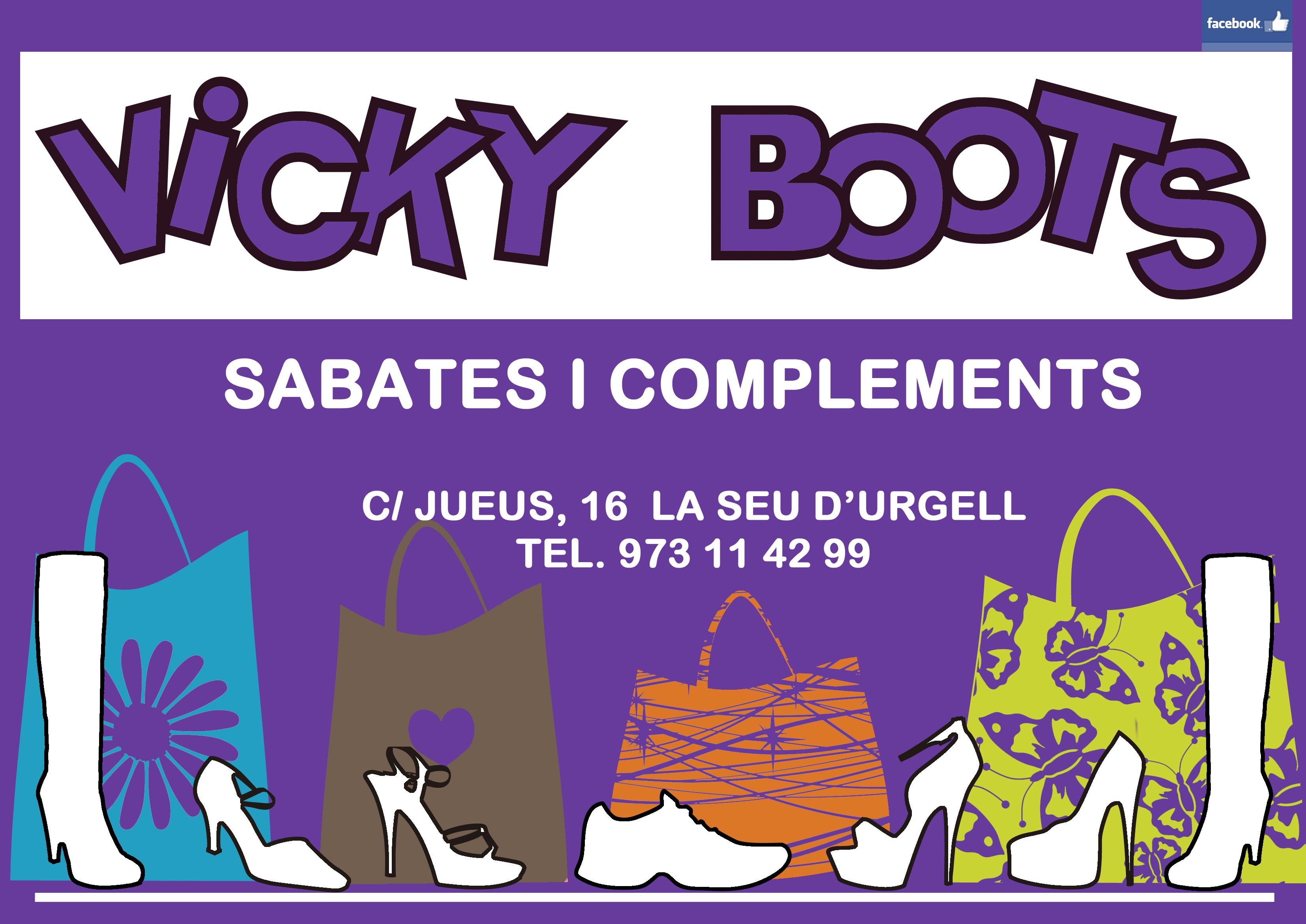 Logo comerç VICKY BOOTS