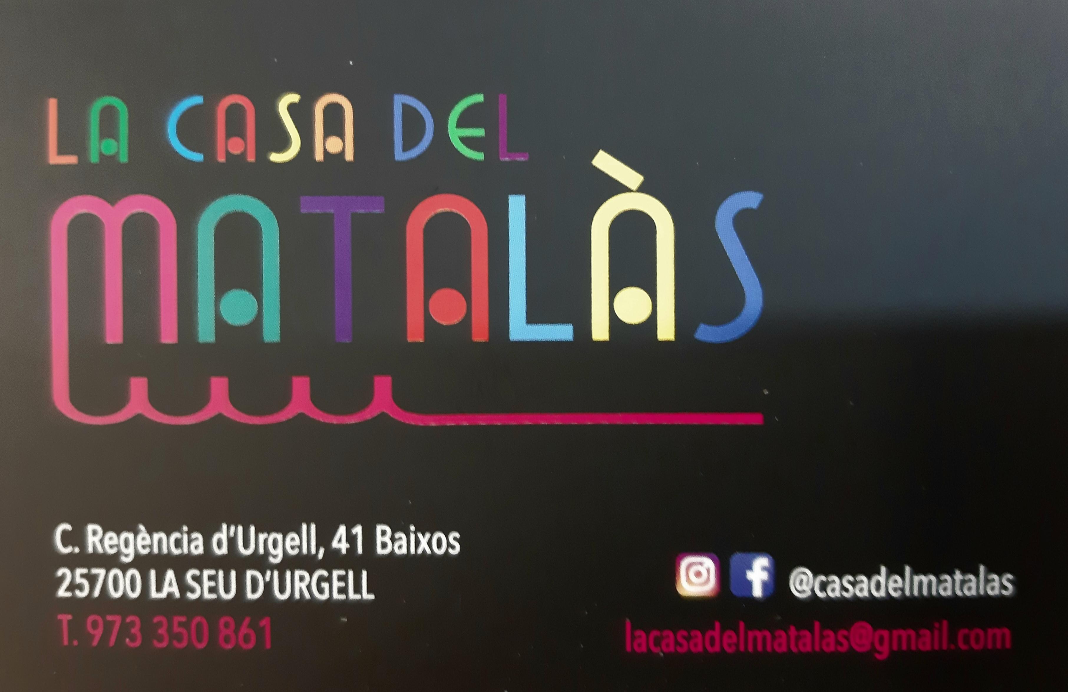 Logo comerç LA CASA DEL MATALAS