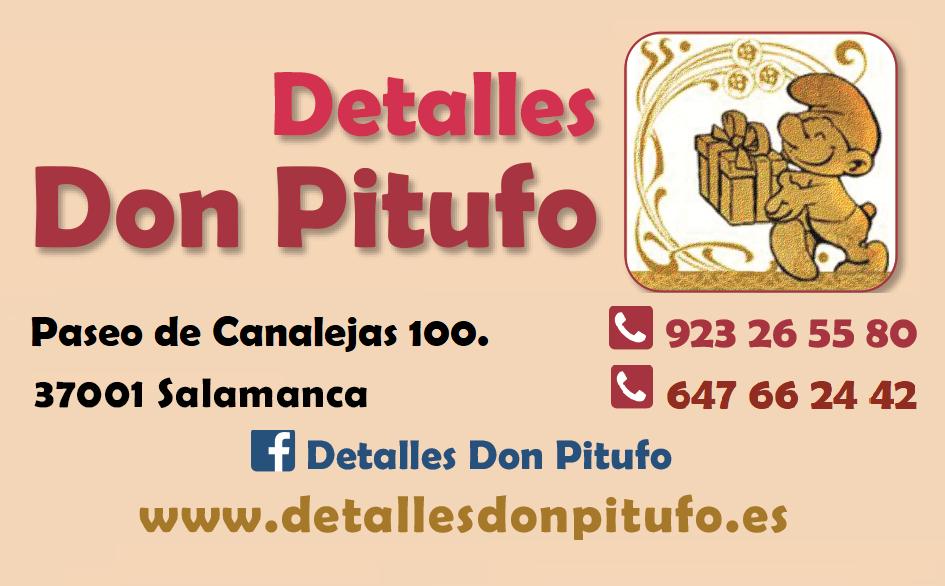 Logo comerç Detalles ( Kiosco) Don Pitufo