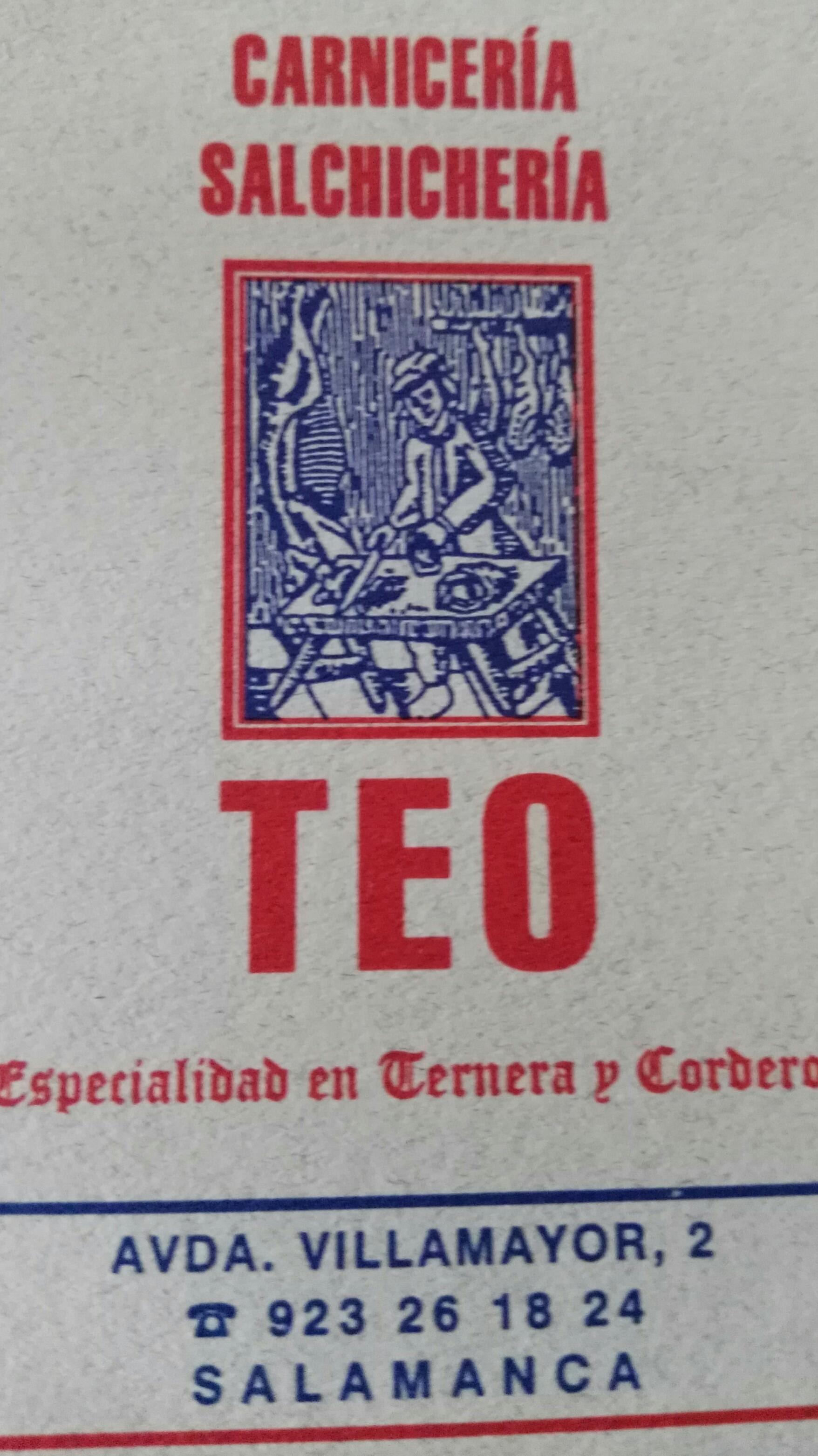 Logo comerç Carniceria Teo