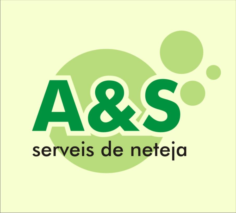 Logo comerç A&S Serveis de neteja