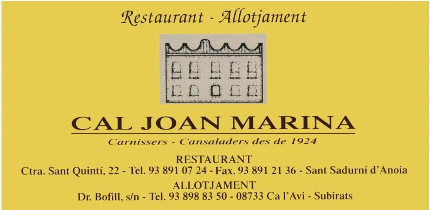 Logo comerç CAL JOAN MARINA