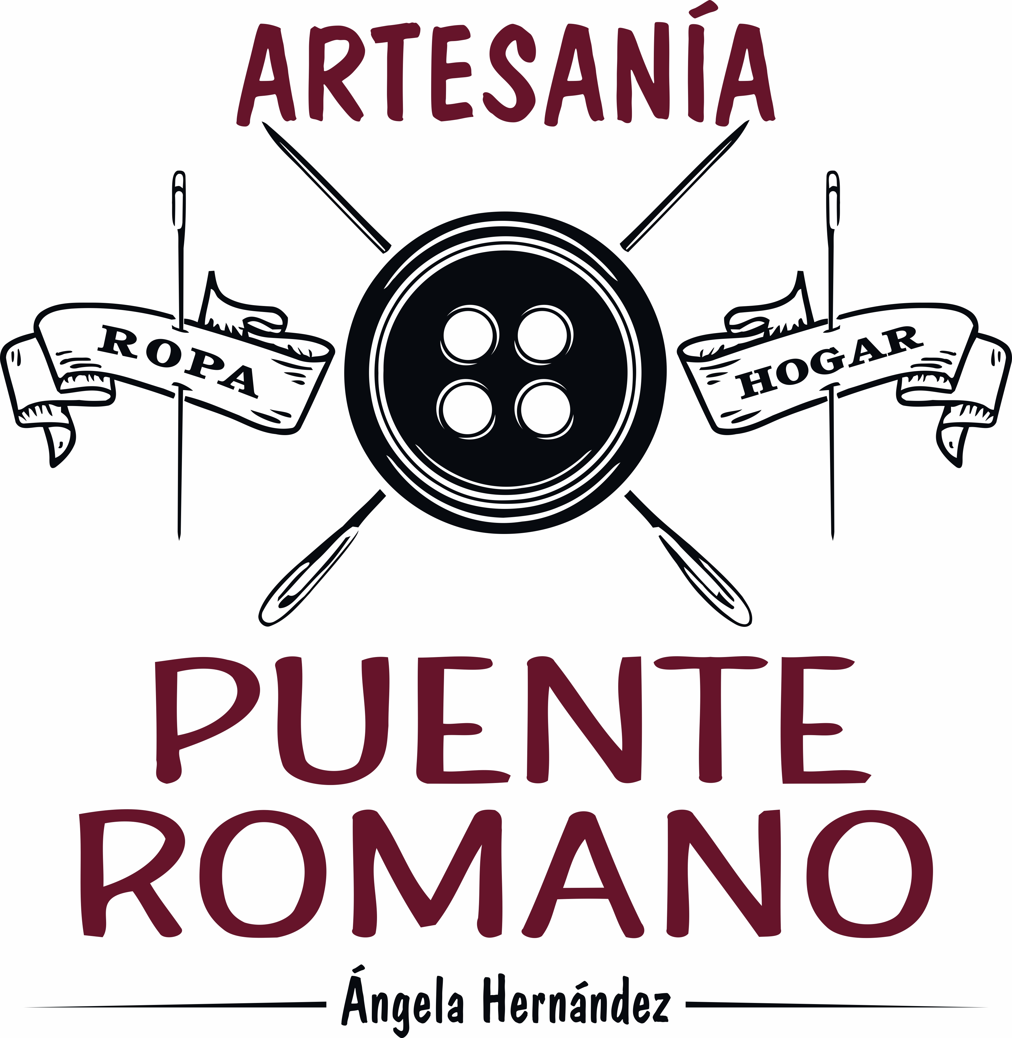 Logo comerç Artesanía Puente Romano