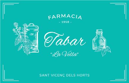 Logo comerç Farmàcia Tabar (La Vella)