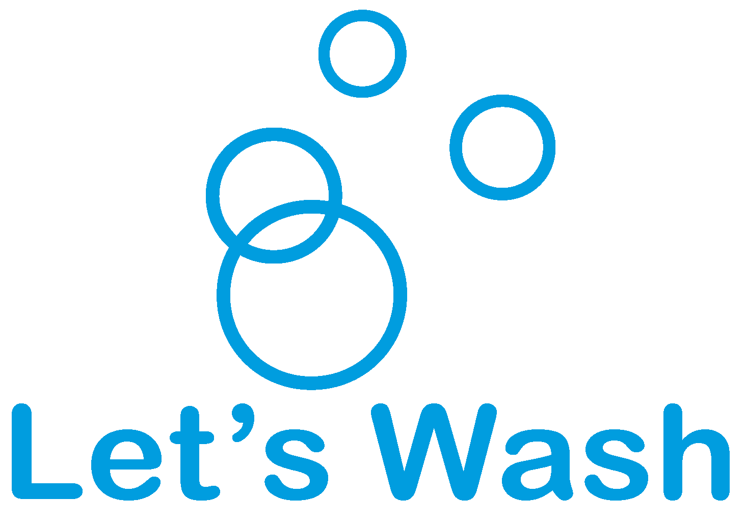 Logo comerç LET'S WASH