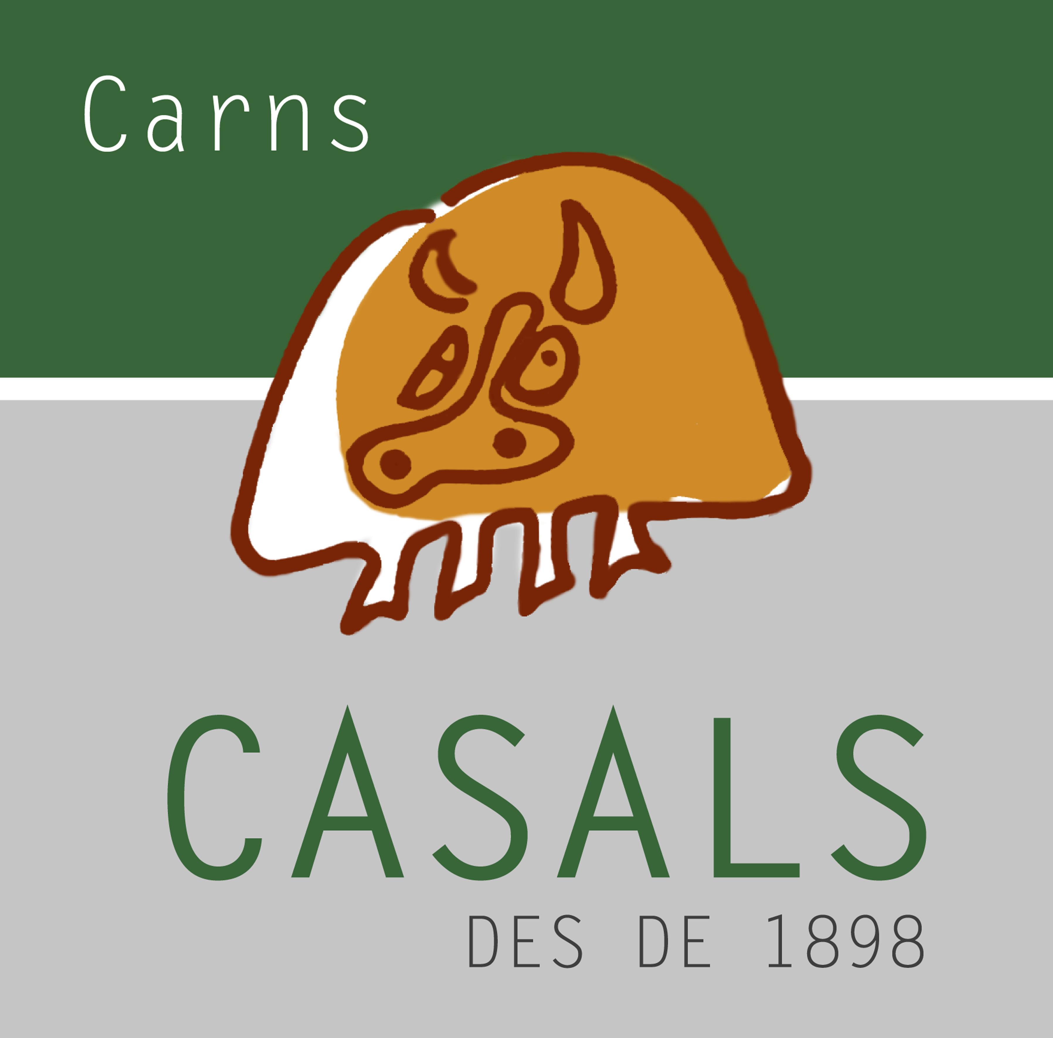 Logo comerç CARNS CASALS