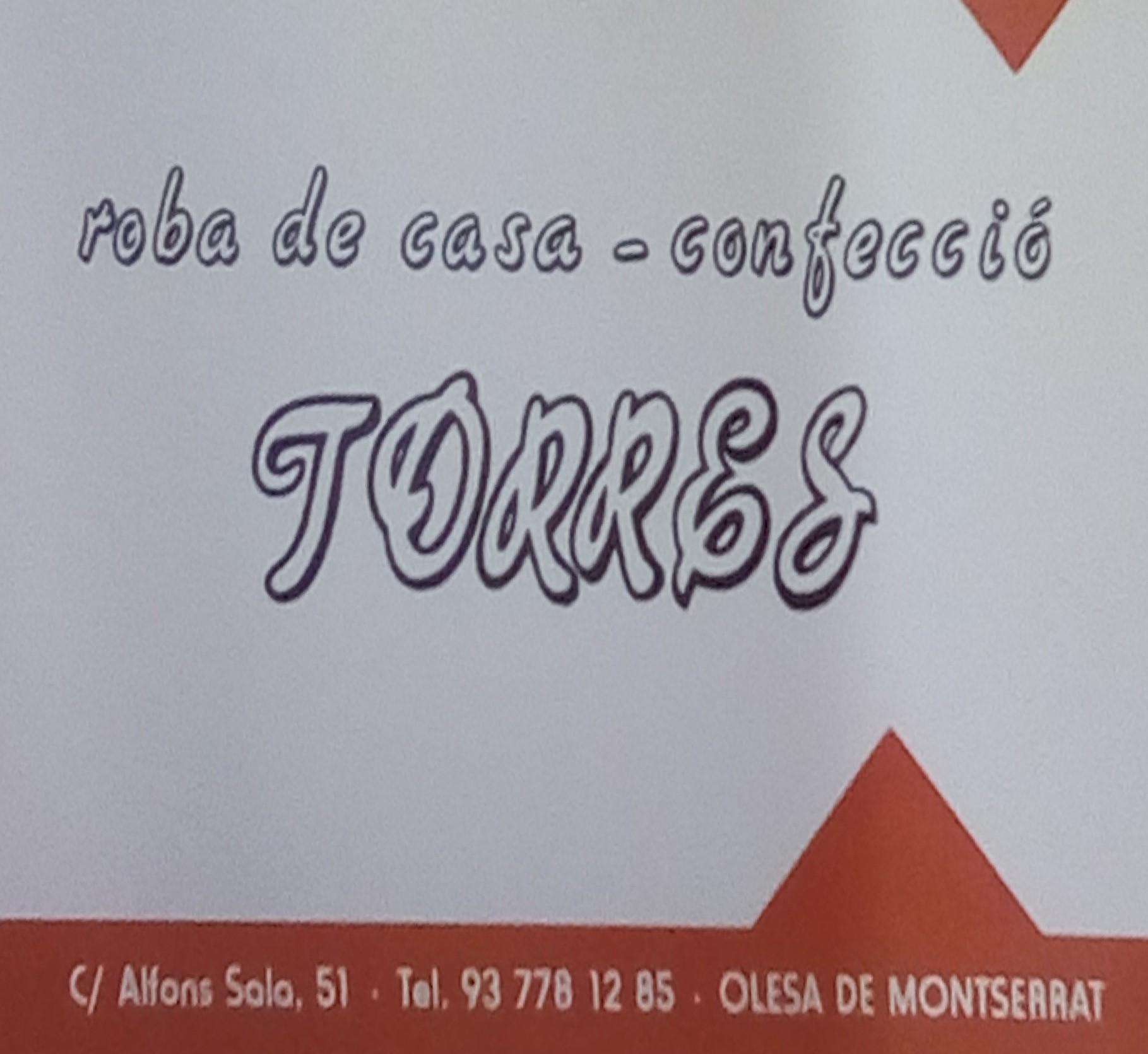 Logo comerç ROBA DE CASA-CONFECCIÓ TORRES