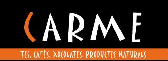 Logo comerç CARME- Tes, Cafès, Xocolates