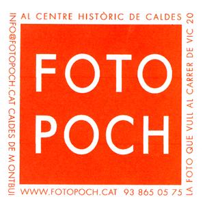 Logo comerç Fotografia Poch