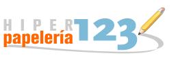 Logo comerç HIPERPAPELERIA 123
