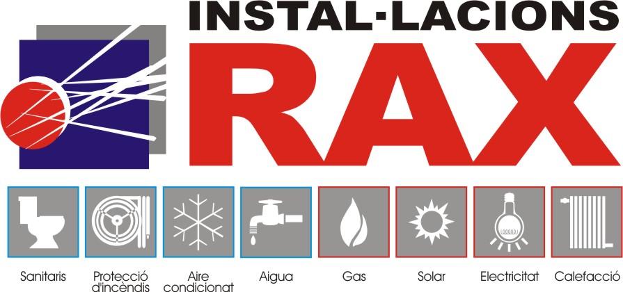 Logo comerç INSTAL·LACIONS RAX SCCL