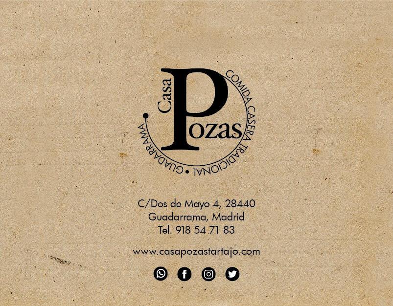 Logo comerç Casa Pozas Tartajo