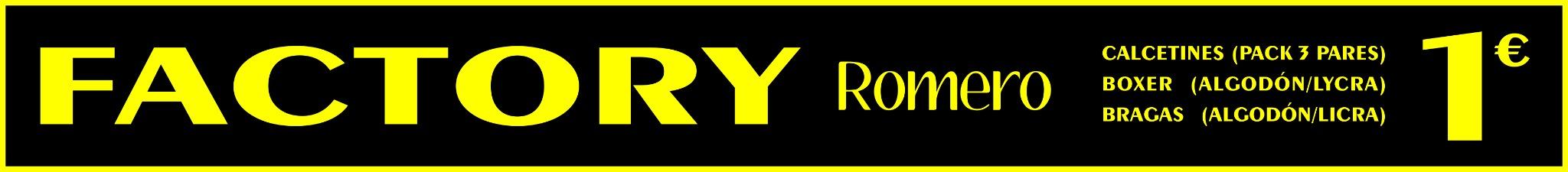 Logo comerç Factory Romero