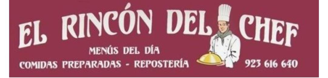 Logo comerç EL RINCÓN DEL CHEF