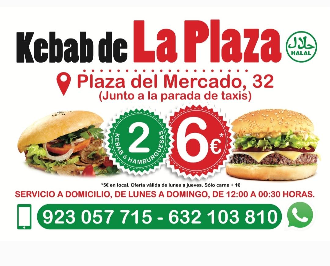 Logo comerç Kebab de las plazas