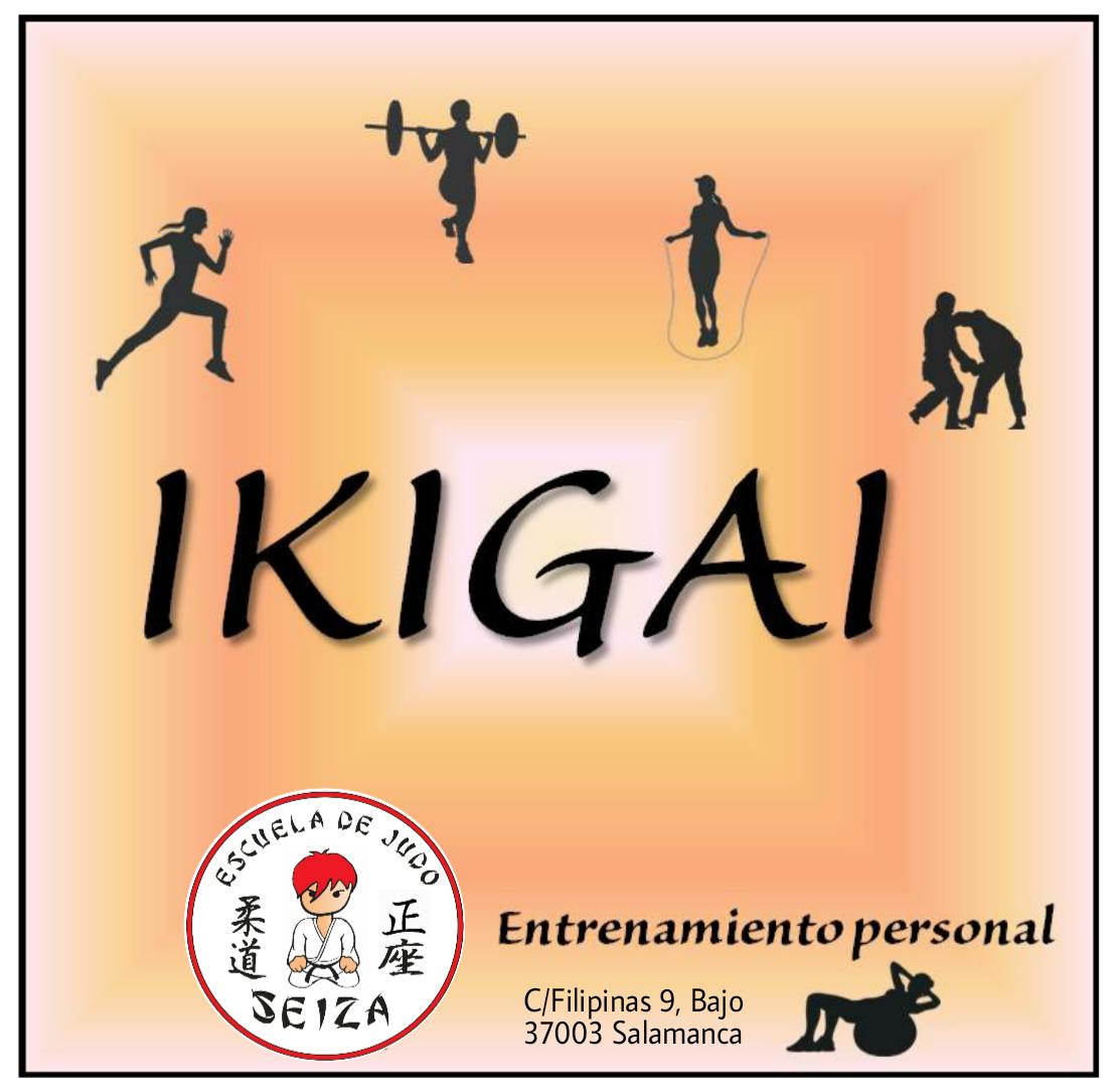 Logo comerç Ikigai Entrenamiento Personal ® // Escuela de Judo Seiza CDE ®