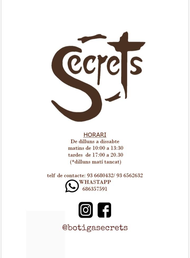 Logo comerç SECRETS