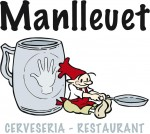 Logo comerç Manlleuet cerveseria restaurant