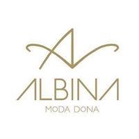 Logo comerç Albina Moda Dona