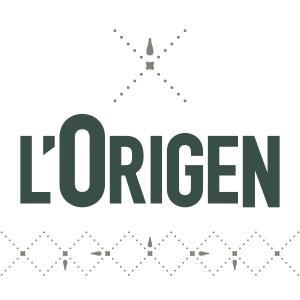 Logo comerç L'Origen Manlleu, Botiga de plats cuinats.
